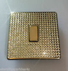 Crystal Slim Screwless 1G Gang Single Light Switch Made With SWAROVSKI ELEMENTS