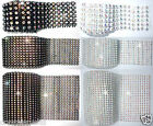 STITCH CHATON DIAMANTE CRYSTAL BLING MESH WRAP WEDDING CAKE BANDING DECORATION