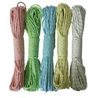 9 Strand Reflective & Luminous Glow in the Dark Paracord Parachute Cord 50/100FT