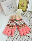 New Winter Versatile Knitting wool Gloves double-layer South Korea Style S0820