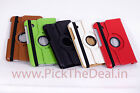 360° ROTATING LEATHER CARRY COVER CASE STAND flip Samsung GALAXY Tab2 P3100 TAB