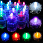 12/24pcs LED Submersible LED Tea Light Candle Flameless Wedding party Decoration