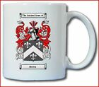 BROWN (SCOTTISH) COAT OF ARMS COFFEE MUG