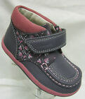 Girls Clarks Alana Erin First Walking Boots Anthracite Leather