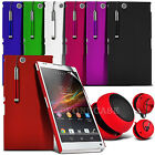 Hard Back Case Cover, Retractable Pen & Speaker Fits Sony Xperia Z Ultra