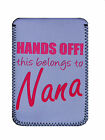 Nanna gift Hands off COVER, CASE POUCH Fits Kindle,3&3g, 4, Touch, Paperwhite