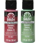 Folk Art Enamel Paint or Clear Medium 2 Oz. Bottles Select Color