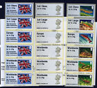 2013 POST GO STAMPEX RIVERS FLAGS MACHINS MA13 CODE 6xSTRIPS SINGLES A2/3/4/B1/2