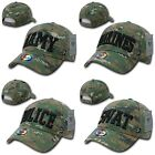Army Marines Police SWAT MCU Digital Camo Camouflage Military Cotton Caps Hats