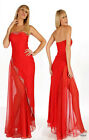 !NEW! FOR THE HOLIDAYS MADE TO ORDER PRINCESS LINE LYCRA/CHIFFON RHINESTONE GOWN