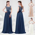 2013 Unique Long Sweetheart Chiffon Girls' Evening Formal Prom Bridesmaid Dress