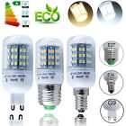 E27 E14 G9 E26 24/42/60SMDs LED Corn Bulbs Spotlight Cool Warm White Equiv 50W