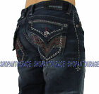 NEW Affliction BLAKE REWORX FLAP VIGILANTE 110RS066 Men`s Relaxed Straight Denim