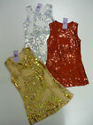 BNWT Girls Lace & Sequin Winter Leaf Intricate Design Party Dress Ages 4-12