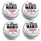 4 Scents Moustache Wax 15g Tin The Bearded Man Company