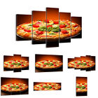 BILD LEINWAND BILDER (48 Muster) DIGITAL ART Essen Pizza Tomaten 2717 de