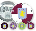 Richbrook Gel Skin AVFC Aston Villa Aluminium Tax Disc Holder