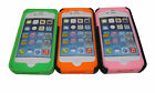 For iPhone 5 5S  Robot Rubberised Silicone Phone Case With Flip Stand UK Seller