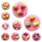 Fruits Vegetables Fondant Sugarpaste Mold Chocolate Clay Craft Silicone Mould