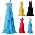 PROMOTION~ Long Evening Formal Bridesmaid Wedding Ball Gown Prom Party Dress2-16