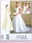 Vogue V2788 Sewing Pattern Misses'/Petite Bridal Dress/Gown - With/Out Train