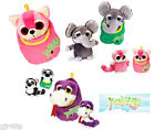 New Keel Toys 18 cm Soft Toy Podlings In Pouches Podling Wide Eyed Furry Friends