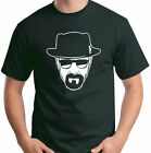Breaking Bad T-Shirt Walter White Heisenberg Face Size S-6XL