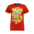 NEW ADIDAS ORIGINALS RED RETRO RARE MENS T-SHIRT