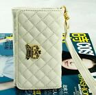 Fashion PU Leather Wallet Handbag Case Cover For iPhone 5 5S 5C 4 4S 3G 3GS HGW