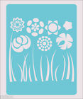 Stencil Flowers Flower Lots Scrapbook Crafts Paint Wall Decoration Fabric #63