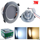 4/10x 7W LED SMDs Recessed Ceiling Light Bathroom Downlight Lamp Kit + Driver UK