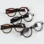 2014 Fashion Round Thick Oversized Horn Rim Eyeglass Frame Clear Lens Spectacles