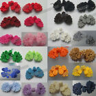 Wholesale lots 5pairs 24color pick Chinese frog closure fasteners knot buttons
