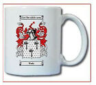 WEEKS COAT OF ARMS COFFEE MUG