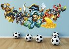 Skylanders Swap Force wall sticker mural, full colour wall stickers boys bedroom