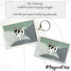 "Jack Russell Keyring or Magnet ""Endearing"" Animal Dog Canine Puppy VK"