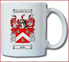 BEADLE COAT OF ARMS COFFEE MUG