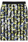 NEW! Peter Pilotto for Target Pencil Skirt - Blue/Yellow Floral Black Stripe