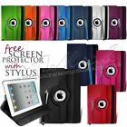 360 Degree Rotating Stand PU Leather Case For Apple iPad Mini 2 & iPad Mini