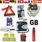 EUROPEAN EU TRAVEL & BREAKDOWN KIT- CAR DRIVING ABROAD Triangle Hi Vis Eurolites