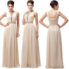 2014 Formal Lady Chiffon Party Ball Gown Princess Prom Bridesmaid Evening Dress