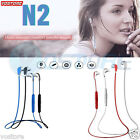 Universal Wireless Bluetooth Sport Stereo Headset headphone FR Samsung iPhone LG
