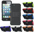 Apple iPhone 5 5S 5G Flip Kick Stand Armor Bumper Hybrid Hard Back Case Cover