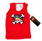 New Rockabilly Pirate Punk Rock Crossbones Baby Boy Girl toddler shirt tank