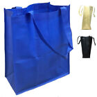 3  Grocery Shopping Bag Bags Reusable Tote Totes with Gasset 4 Colors Bulk Lot