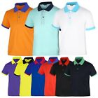 Mens Womens color coordinated Cotton Golf Tennis Collar Polo Tshirts Top Tee