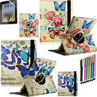 Fashion 360 Rotating PU Leather Case Cover For New iPad 4 4G Gen 3 3rd 2+Pen