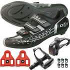 DMT VISION Road Bike Shoes with Wellgo Pedals Cleats