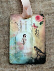 Hang Tags  BALLERINA IN A BOTTLE TAGS or MAGNET #355  Gift Tags