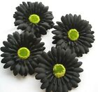 "Gerbera Daisy Head Artificial Silk Flower bride decor Wedding party 4"" 10cm"